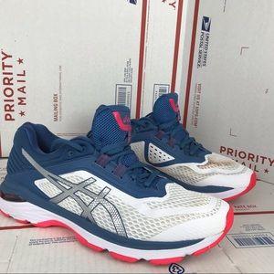 Asics Women's GT 2000 Blue Running T855N Size 10